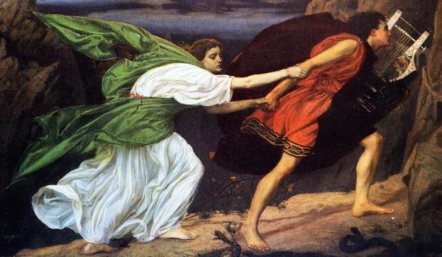 Orpheus and Eurydice (1862) by Edward Poynter