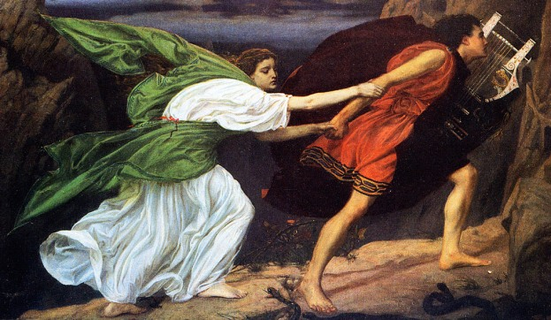 Orpheus and Eurydice (1862) by Edward Poynter
